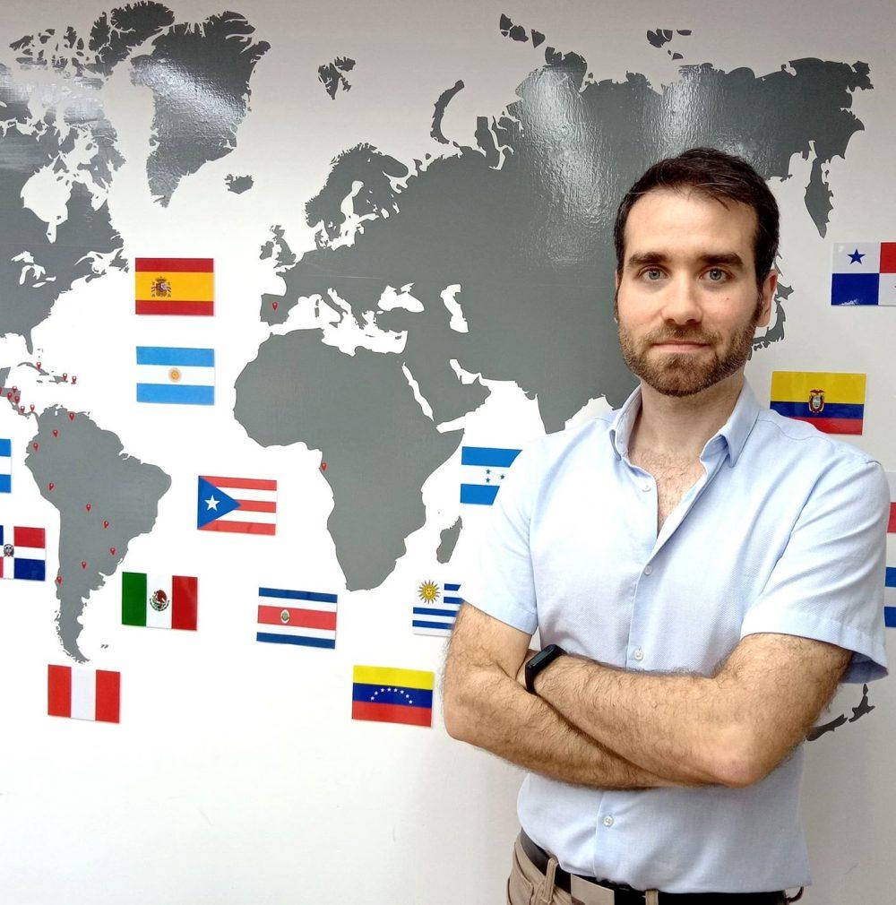 Spanish teacher Diego