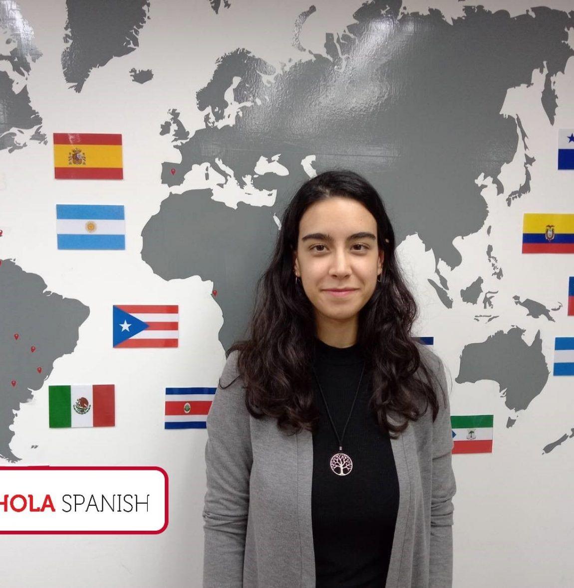 Spanish teacher Lucia